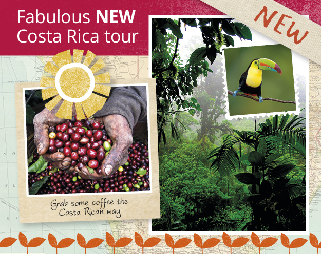 Explore Costa Rica on our new 2017 tour!