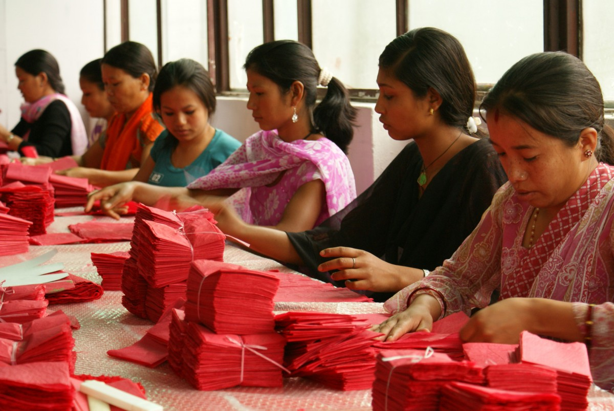 Meet Get Paper Industries, our friends in Nepal