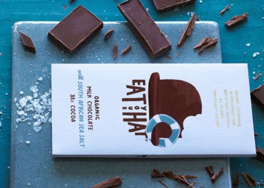 Traidcraft Sea SAlt Chocolate