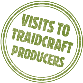 Traidcraft Producers Visited Here