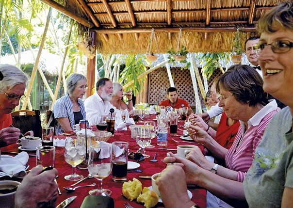 Sharing a meal.jpg - Cuba - Meet the People Tours