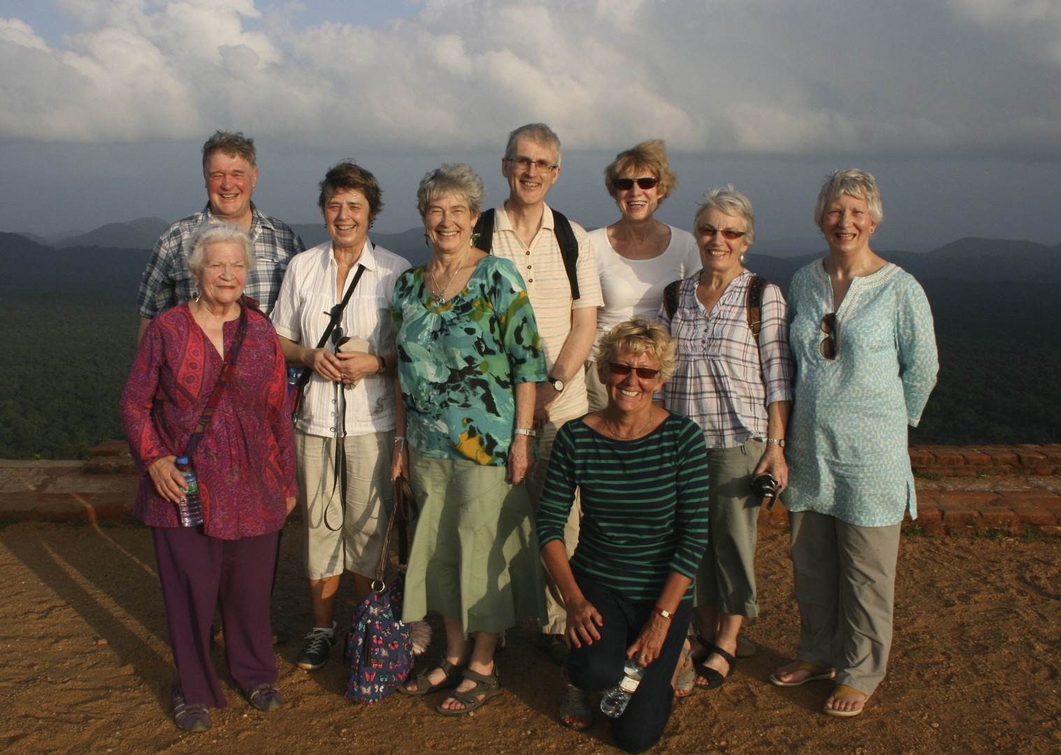 Group at Sigirya.jpg - Sri Lanka - Meet the People Tours