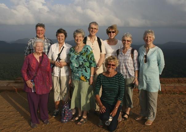 Group at Sigirya.jpg - Sri Lanka - Meet the People Tours