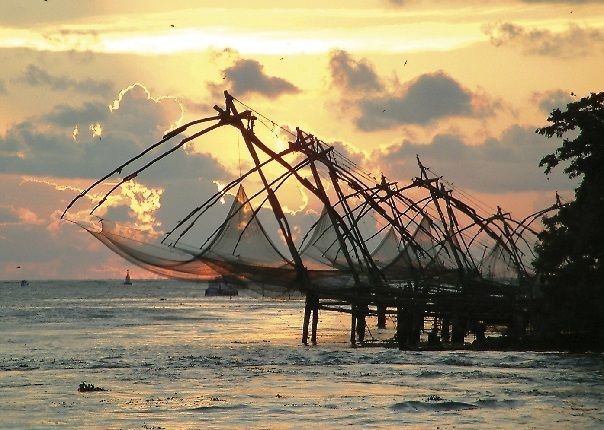 Chinese fishing.jpg - Southern India - Meet the People Tours