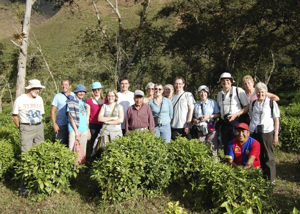 Learning about tea and coffee.jpg - Peru - Meet the People Tours