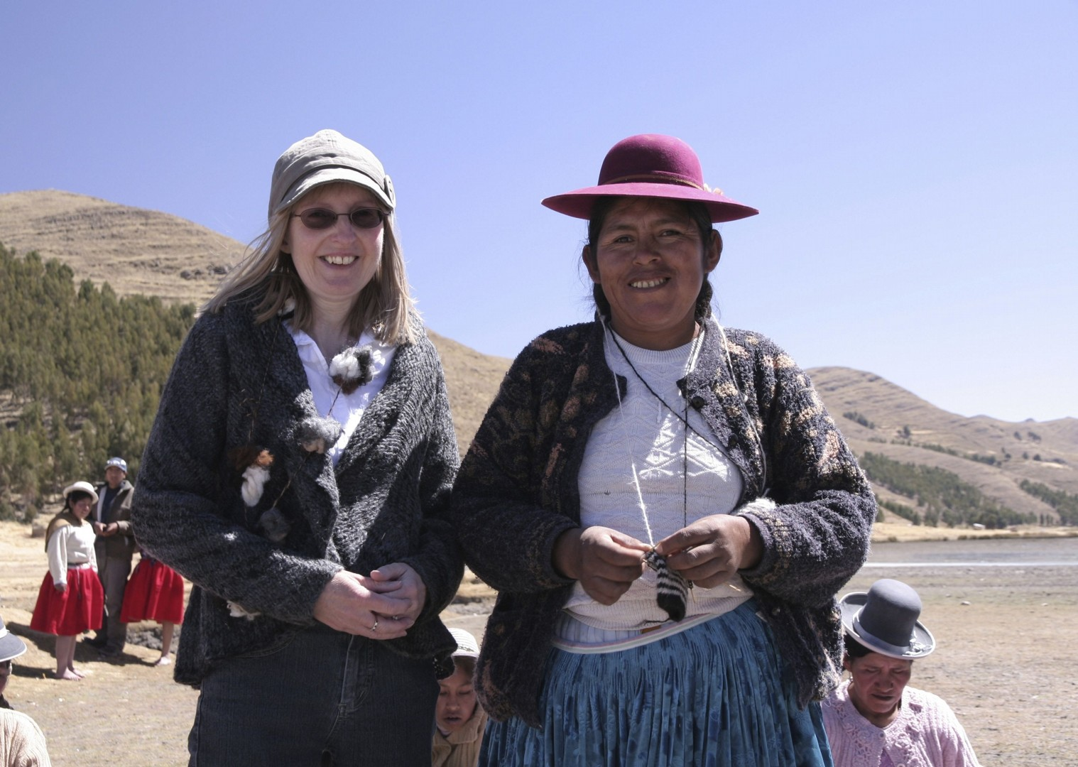Meeting producers.jpg - Peru - Meet the People Tours