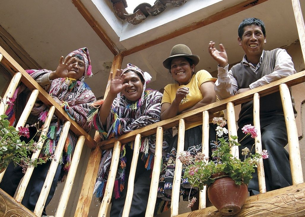 Warm welcomes.jpg - Peru - Meet the People Tours
