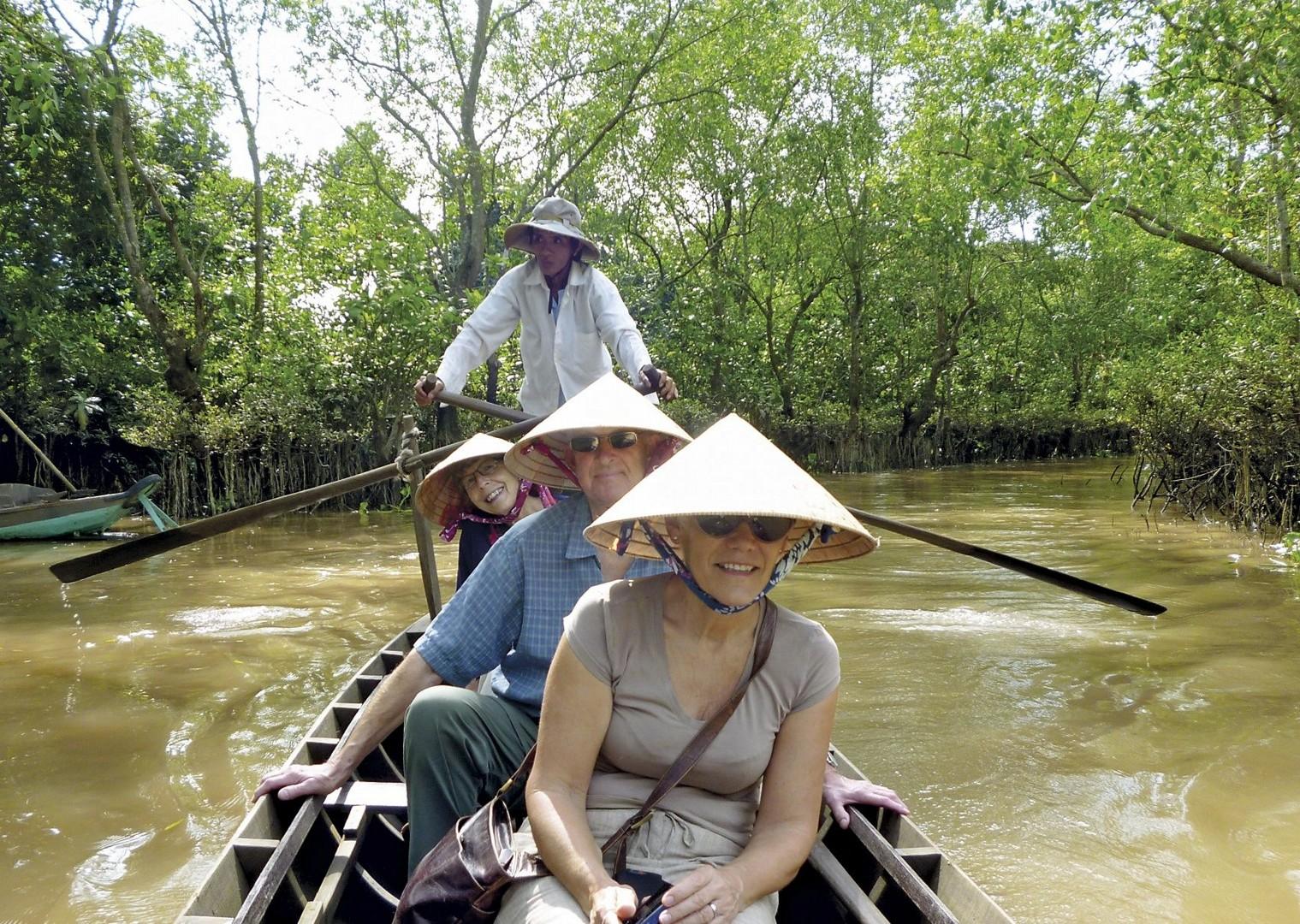 vietnam in boat.jpg - Vietnam - Meet the People Tours