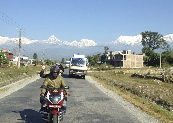 View Leaving Pokhara.jpg - Nepal - Meet the People Tours