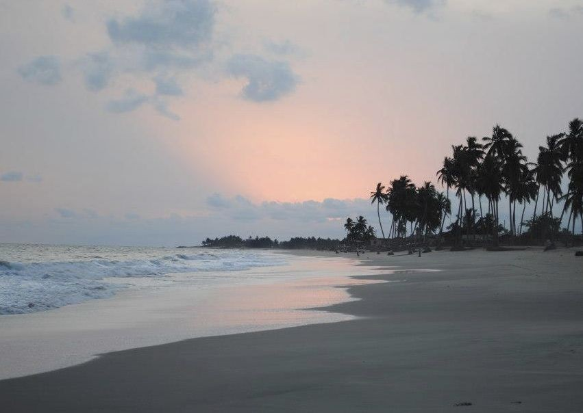 Sunset at the Coast - Ghana - Meet the People Tours