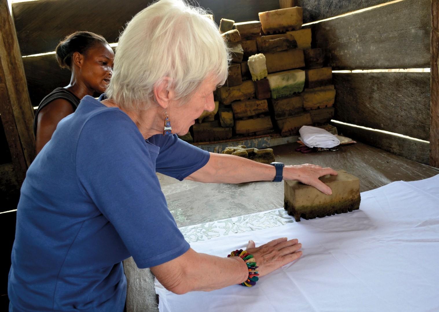 Batik Printing.jpg - Ghana - Meet the People Tours