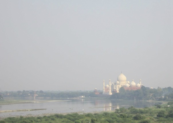 Taj Mahal Shimmering in the distance.jpg - Northern India - Meet the People Tours