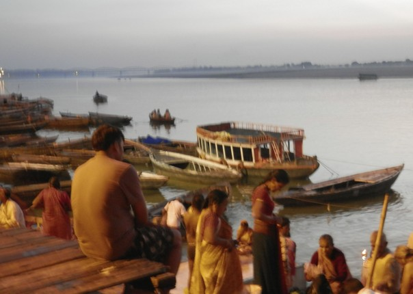 Varanasi at dawn.jpg - Northern India - Meet the People Tours