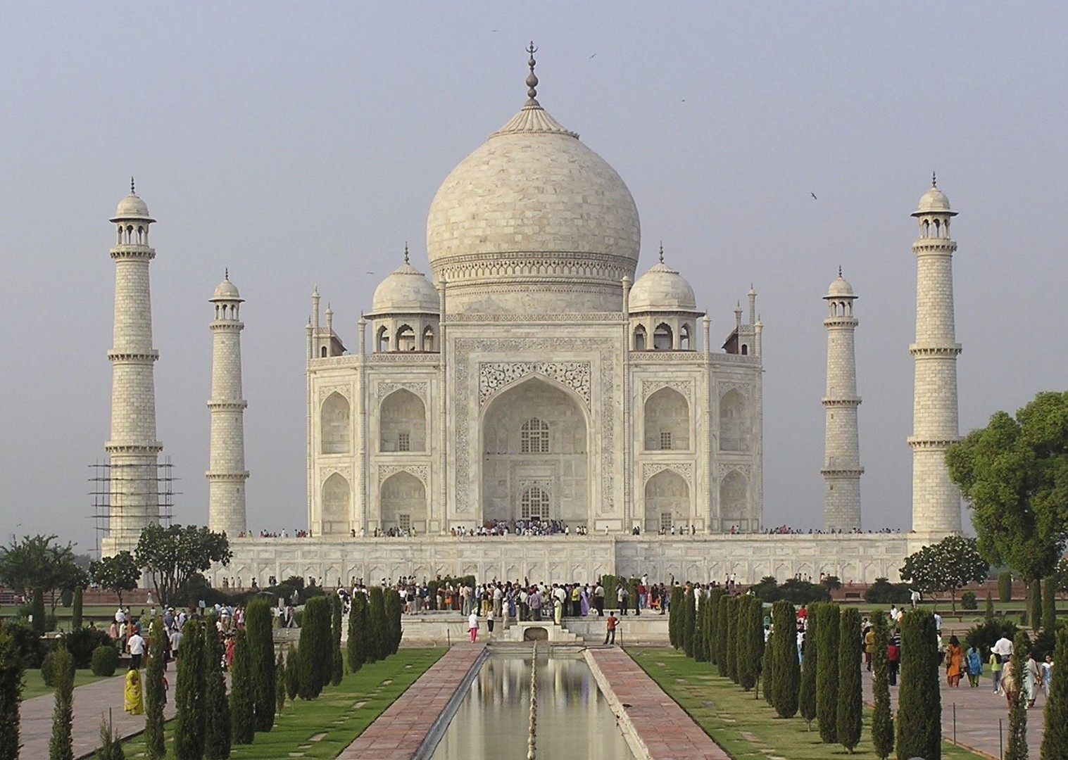 Visiting the Taj Mahal.jpg - Northern India - Meet the People Tours