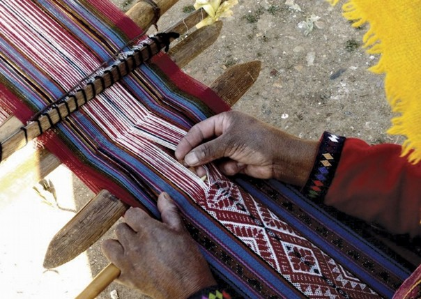 Weaving.jpg - Inca Trails in Peru - Meet the People Tours