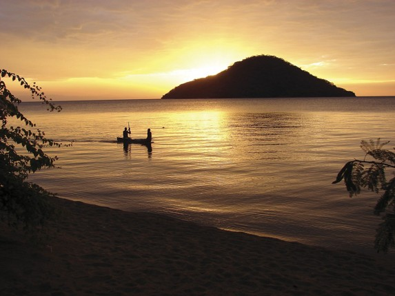 Sunset over Lake Malawi - Malawi - Meet the People Tours