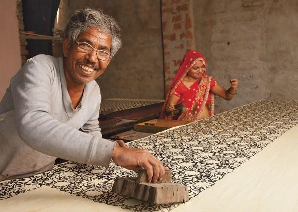Blockprinting.jpg - Western India - Meet the People Tours
