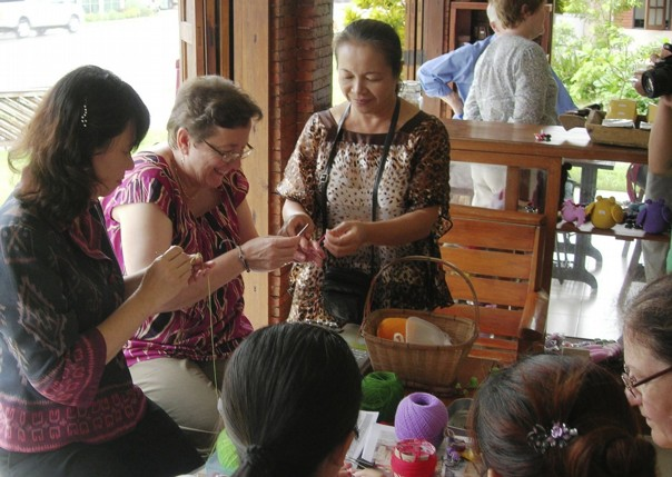 Learning a new craft.jpg - Thailand - Meet the People Tours