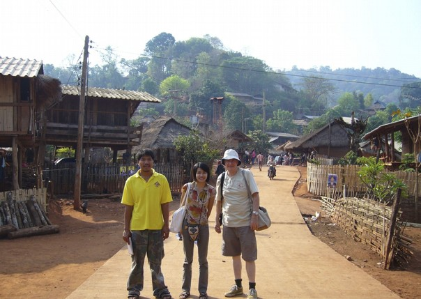 Visiting villages.jpg - Thailand - Meet the People Tours