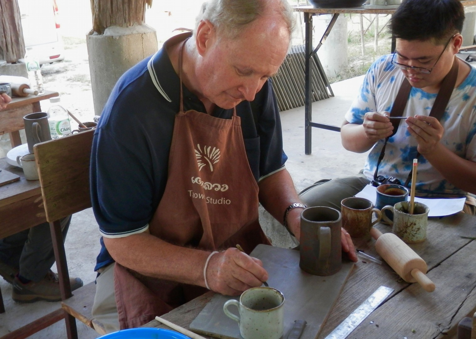 Thailand Painting Pottery.jpg - Thailand - Meet the People Tours