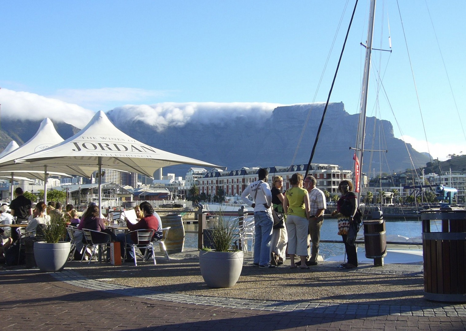 Table Mountain from the Waterfront - South Africa - Meet the People Tours