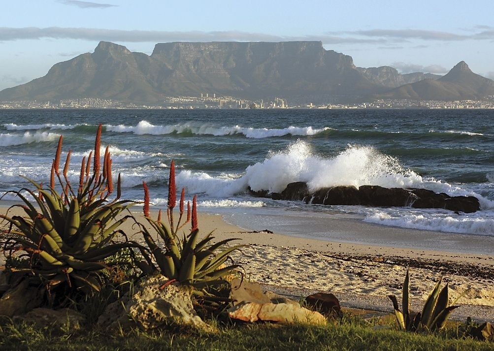 View of Table Mountain - South Africa - Meet the People Tours