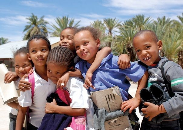 Meeting Children in Pella - South Africa - Meet the People Tours