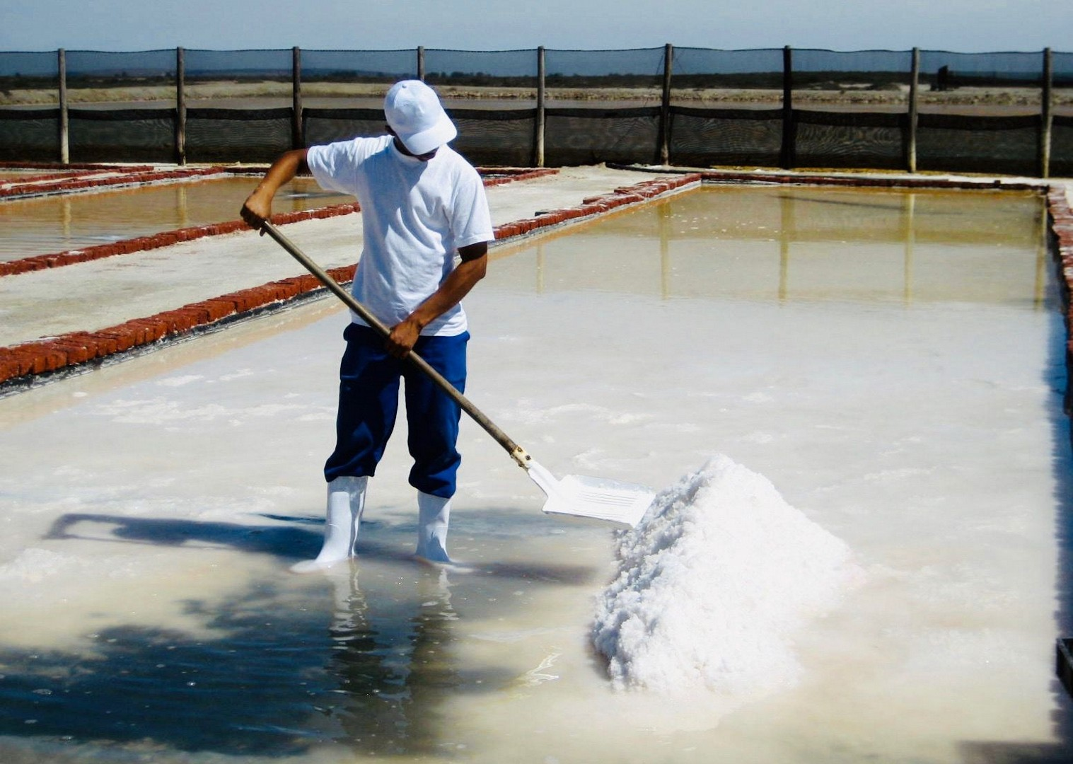Salt harvesting at Khoisan.jpg - South Africa - Meet the People Tours
